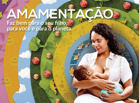 Amamentação contribui para desenvolvimento infantil e sustentável